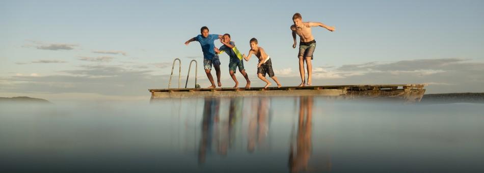 Boysjumping